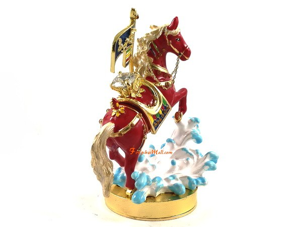 Bejeweled Red Windhorse Feng Shui 2018 For Success