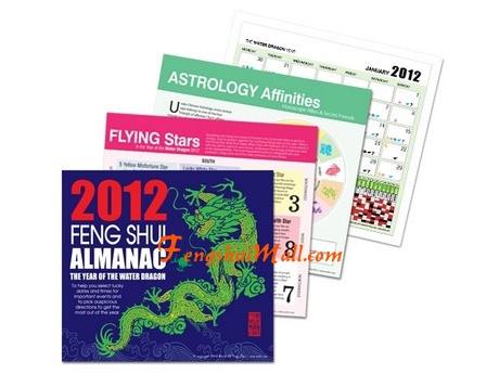 Feng Shui Almanac 2012 :: Lilian Too WOFs