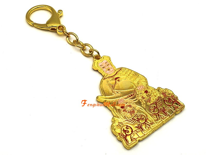fengshuisale Tai Sui Hanging Key Chain 2021 W4248
