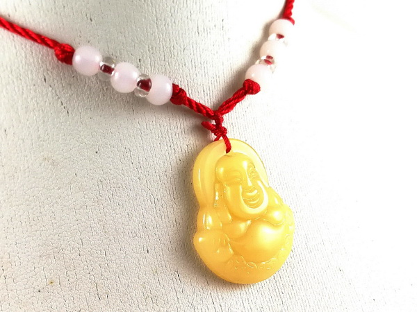 Laughing buddha pendant with adjust end 12292018 131 pm online feng shui store aloadofball Image collections