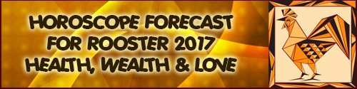 Feng Shui 2017 Horoscope Forecast for Rooster
